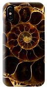 An Ancient Ammonite Pattern  IPhone Case