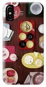 An Assortment Of Dinnerware IPhone Case