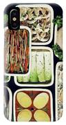 An Assortment Of Food In Containers IPhone X Case