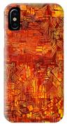 An Autumn Abstraction IPhone Case