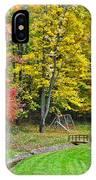 An Autumn Childhood IPhone Case