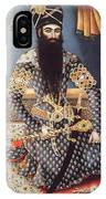 An Early Painting Of Fath Ali Shah IPhone Case