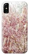 An Early Snowfall IPhone Case