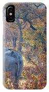 An Elephant Making Its Way IPhone Case