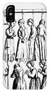 An Execution Of Witches In England IPhone Case