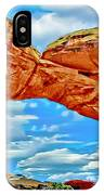 An Impression Of Arches National Park IPhone Case
