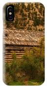 An Old Cabin In Utah IPhone Case