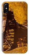 An Old Colorado Mine In Autumn IPhone Case