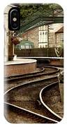 An Old-fashioned Train Station IPhone Case