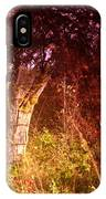 An Old Fence Post IPhone Case