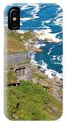 An Old  Hydroelectric Generating Station IPhone Case