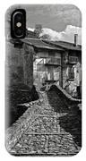 An Old Spanish Town Puente De Montanana IPhone Case