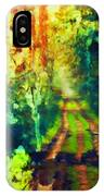 An Uncertain Path IPhone Case
