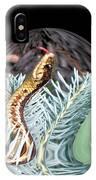 An Uncommon Garter Snake IPhone Case