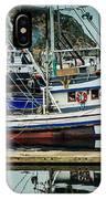 Anacortes Fishing Fleet Washington State IPhone Case