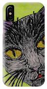 Anahs The Fairy Cat IPhone Case