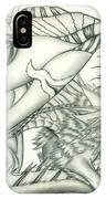 Anare'il The Chaos Dragon IPhone Case