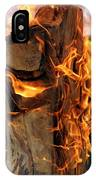 Anatomy Of Fire IPhone Case