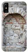 Ancient Bricked Up Window  IPhone Case