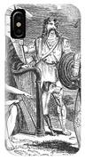 Ancient Briton, Caledonian And Irish IPhone Case
