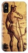 Ancient Chamorro Society 3 IPhone Case