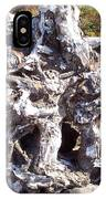 Ancient Gnarled Driftwood - Oregon Beach IPhone Case