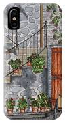 Ancient Grey Stone Residence IPhone Case