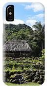 Ancient Taro Gardens In Kauai IPhone Case