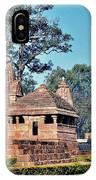 Ancient Temple Complex  - Amarkantak India IPhone Case