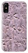 Ancient Writings IPhone Case