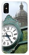 And The Time Is IPhone Case