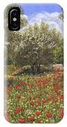 Andalucian Poppies IPhone Case