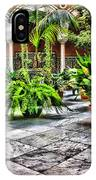 Andalusian Courtyard In Sevilla Spain IPhone Case