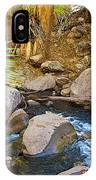 Andreas Creek In Indian Canyons-ca IPhone Case