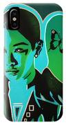 Android 1 In Greens IPhone Case