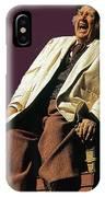 Andy Devine Singing Old Tucson Arizona IPhone Case