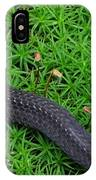 Anerythristic Red Belly Snake IPhone Case