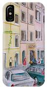 Anfiteatro Hotel Rome Italy IPhone Case
