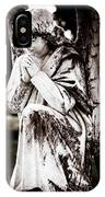 Angel In Prayer IPhone Case