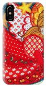 Angel In Red IPhone Case