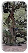 Angel Oak Digital Art IPhone Case