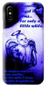 Angel On Her Shoulder IPhone Case