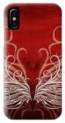 Angel Wings Crimson IPhone Case