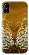 Angel Wings Gold IPhone Case