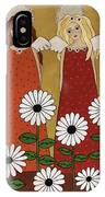 Angels And Dasies IPhone Case
