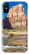 Angel's Landing Zion Utah IPhone Case