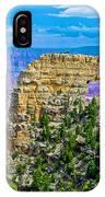Angel's Window At Cape Royal On North Rim Of Grand Canyon-arizona IPhone Case