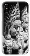 Angkor Beautiful Apsaras IPhone Case