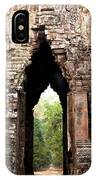 Angkor Thom East Gate 02 IPhone Case