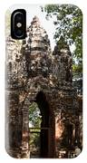 Angkor Thom North Gate 01 IPhone Case
